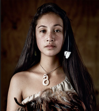 Maori Girl by Jimmy Nelson from the incredible book  Before They Pass Away.