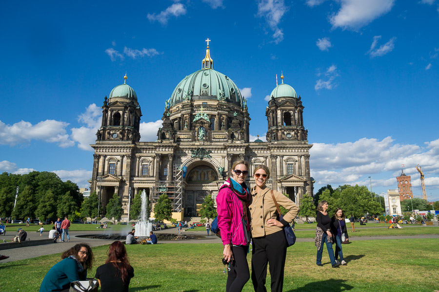 With Beth on Museum Island, Berlin
