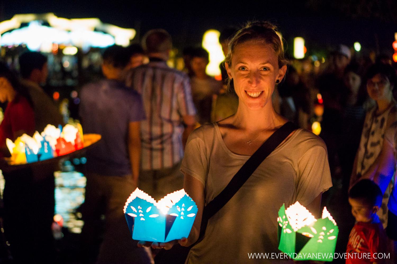 our wishing lanterns