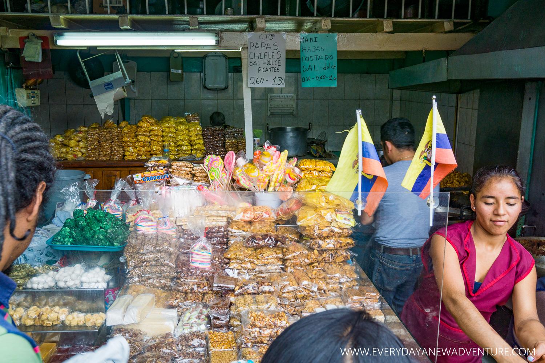 Ecuadorians LOVE sugar!