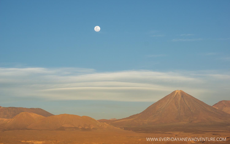 Sunset in San Pedro de Atacama.