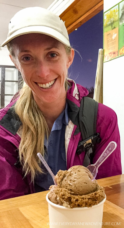 Thanksgiving dinner of ice cream at Babalu!