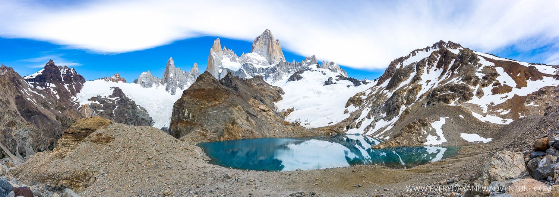 Laguna de Los Tres and Cerro Fitz Roy