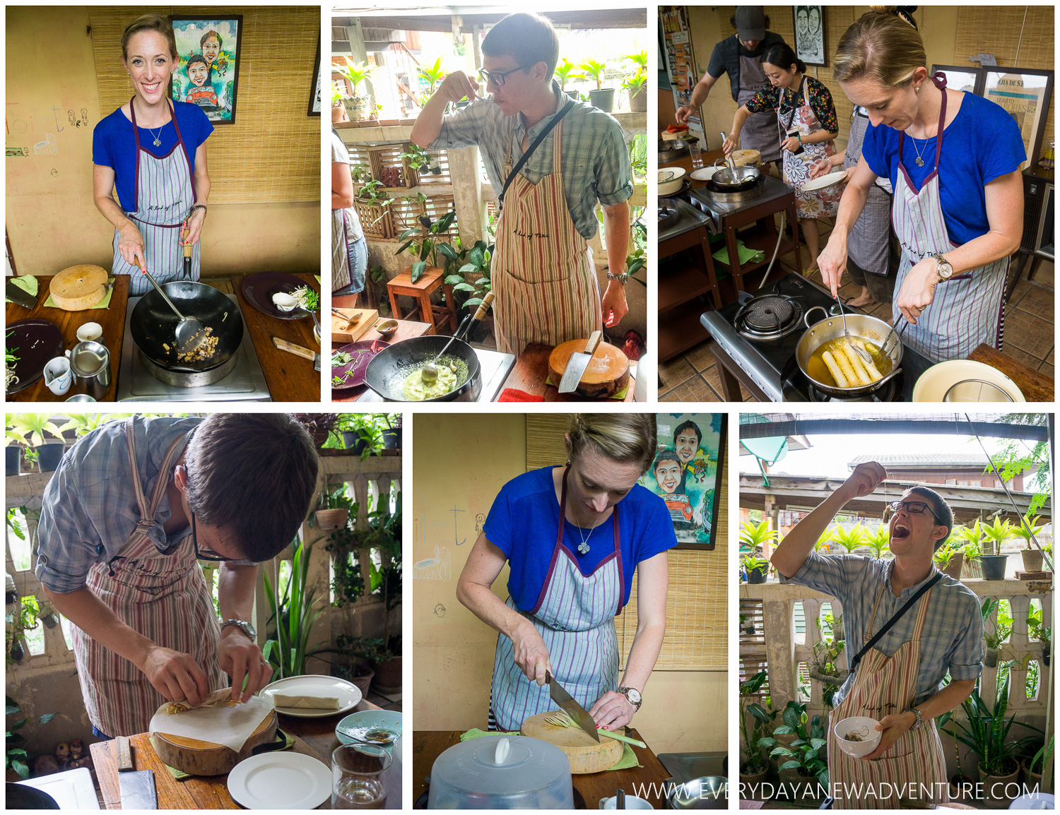 A Lot of Thai Cooking Class in Chiang Mai!