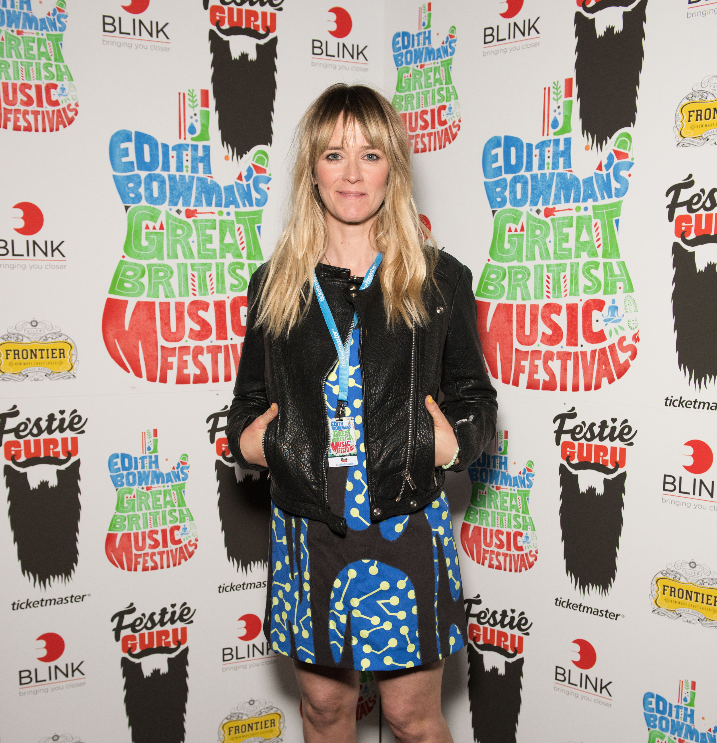 Edith Bowman arrives at the launch