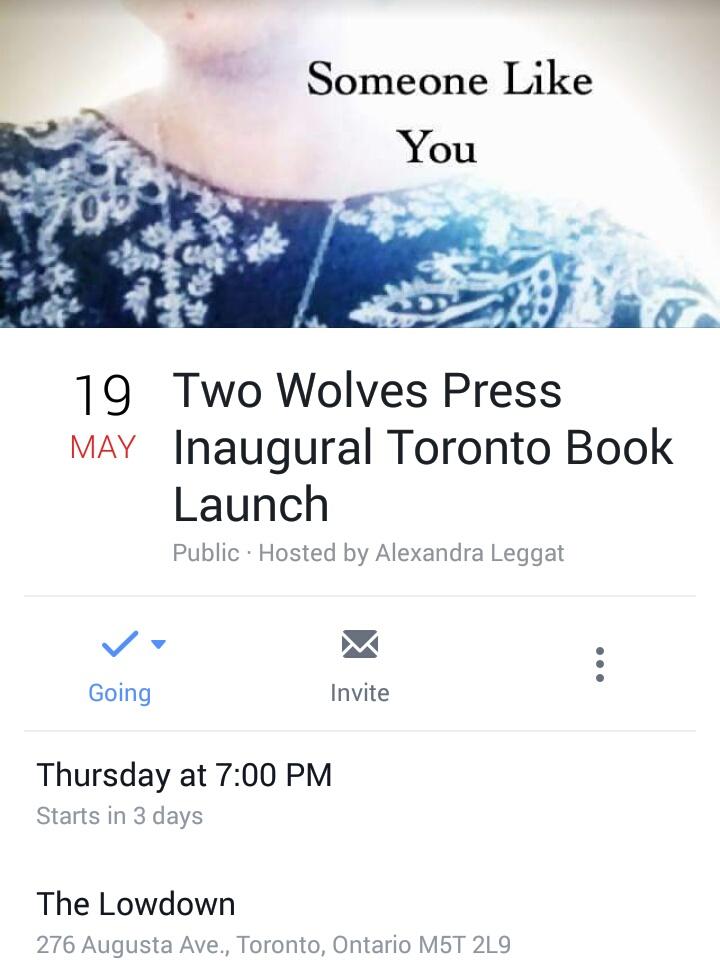 TorontoBookLaunchSomeoneLikeYou