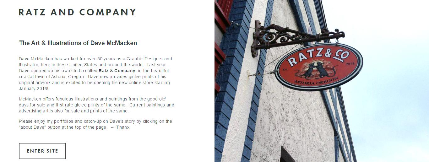 Ratz and Company Website
