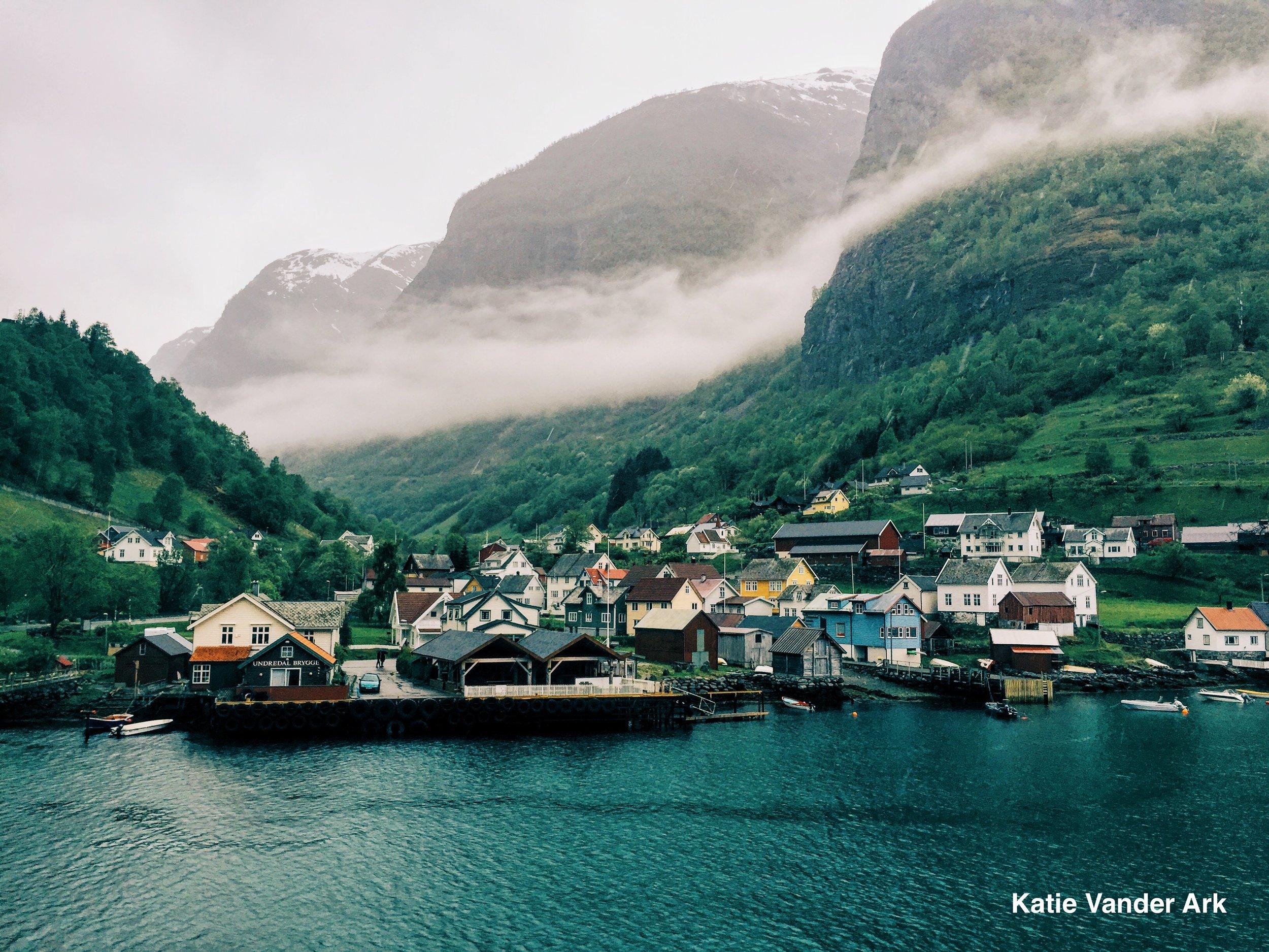 Norwegian Fjord Town .jpg