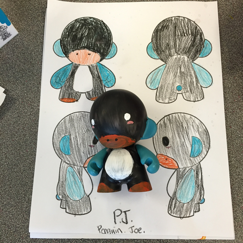 Penguin Joe is my favorite!