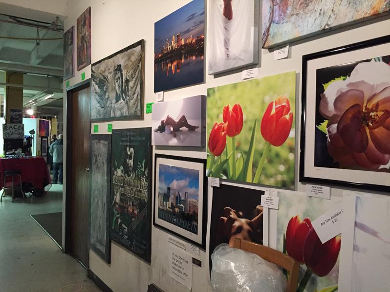 Walls and walls of artwork!!