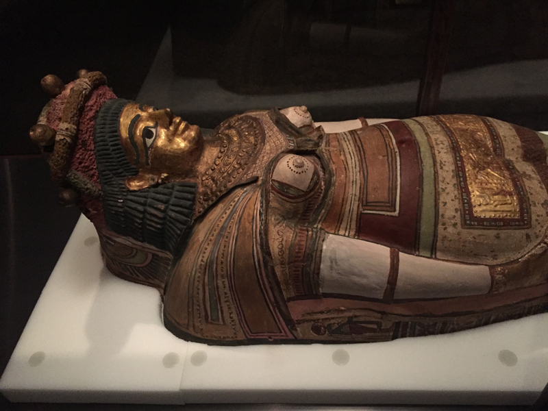 This mummy was absolutely exquisite!