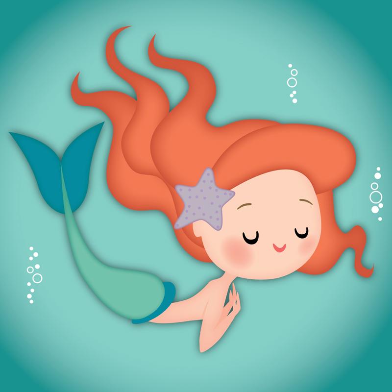 Jerrod Maruyama style mermaid