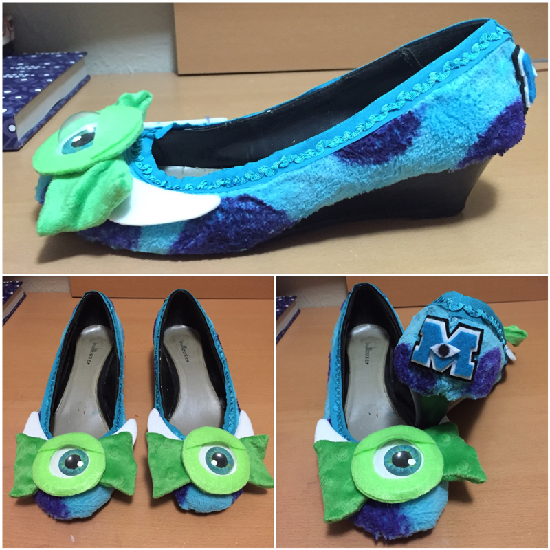 Finished Monster Heels