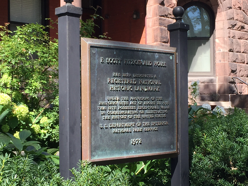 F. Scott Fitzgerald House.