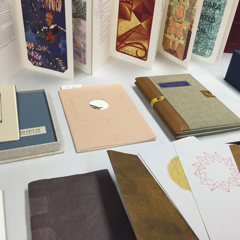 Handmade books.