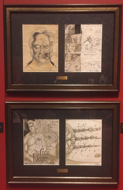 I was truly impressed by his level of talent and detail in his drawings.