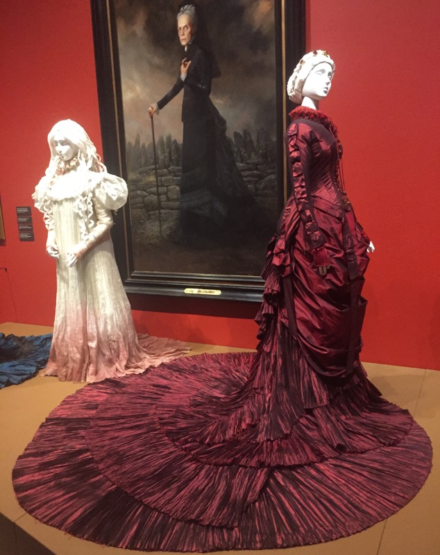 Gorgeous screen used gowns.