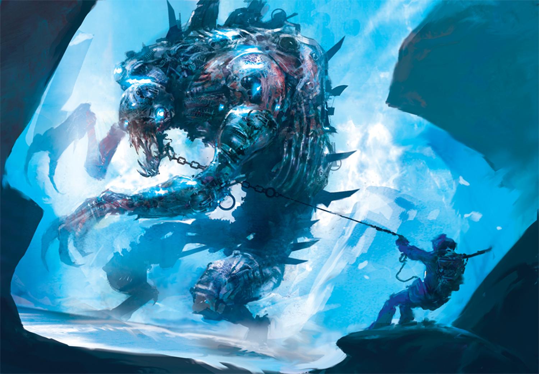 Pherexian Ironfoot (Snow Artifact Creature - Construct)