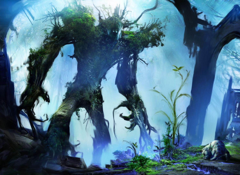 Sylvan Primordial (Creature - Avatar)