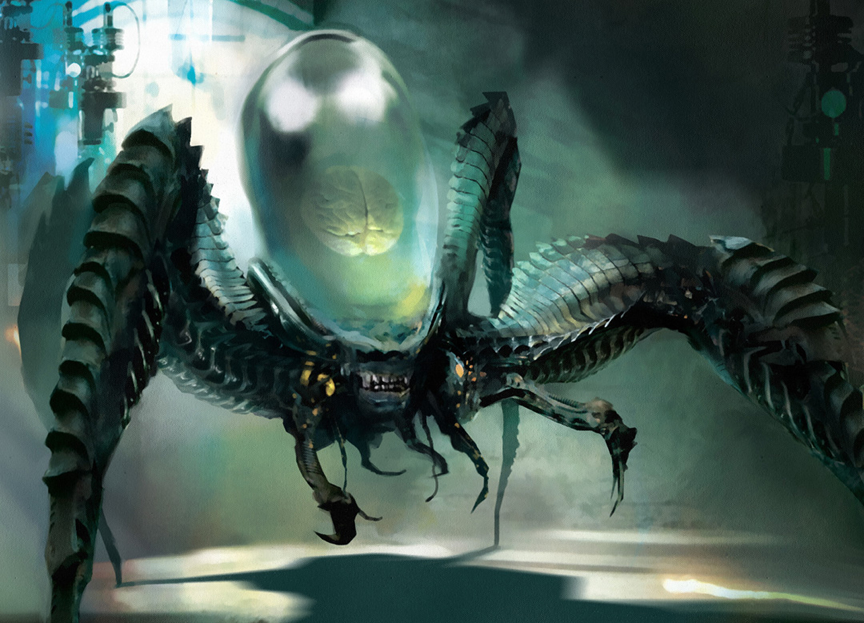 Psychosis Crawler (Artifact Creature - Horror)