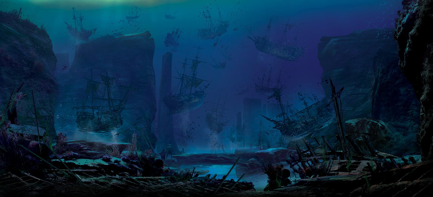 8.pirates of the caribbean ships rising.jpg