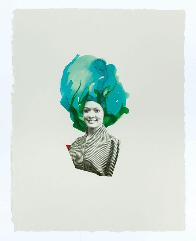 Unbroken, 2017, Lorna Simpson ⠀⠀⠀⠀⠀⠀⠀⠀ ⠀⠀⠀⠀⠀⠀⠀⠀ #hairhistory #hairstyle #vintagehair #arthistory #thehairhistorian #LornaSimpson