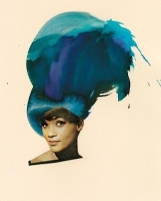 A Friend, 2012, Lorna Simpson ⠀⠀⠀⠀⠀⠀⠀⠀ ⠀⠀⠀⠀⠀⠀⠀⠀ #hairhistory #hairstyle #vintagehair #arthistory #thehairhistorian #LornaSimpson