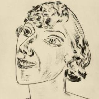 Sarika, 1922, Max Beckmann ⠀⠀⠀⠀⠀⠀⠀⠀ ⠀⠀⠀⠀⠀⠀⠀⠀ #hairhistory #hairstyle #vintagehair #arthistory #thehairhistorian #MaxBeckmann