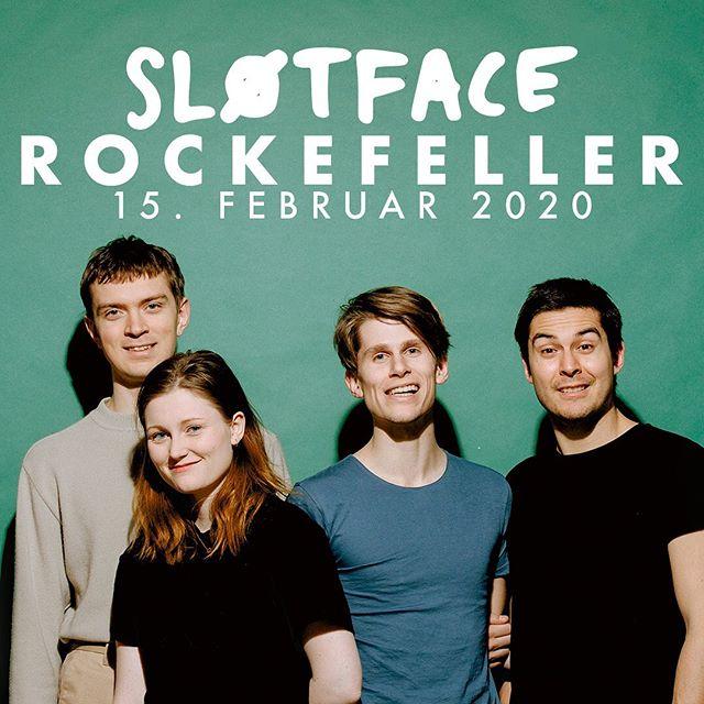 Hør hør! Njudelige Sløtface-toner blir å finne på @rockefelleroslo 15. Februar! I tillegg slipper tidenes gjeng ny, viktig musikk i morgen!