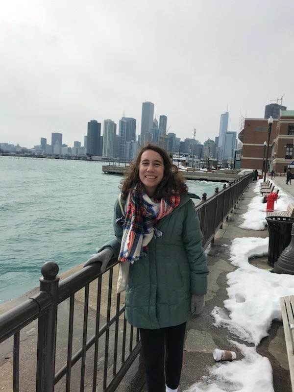 In the good ol' Windy City for a weekend (the 3rd weekend in February)