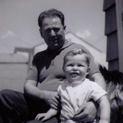 Me and my Grandfather - Growing up in Halifax, the door was always open. It wouldn't matter much if it were locked - the entire neighbourhood knew how to find the spare key. I'm grateful my grandson will walk these same east coast streets!
