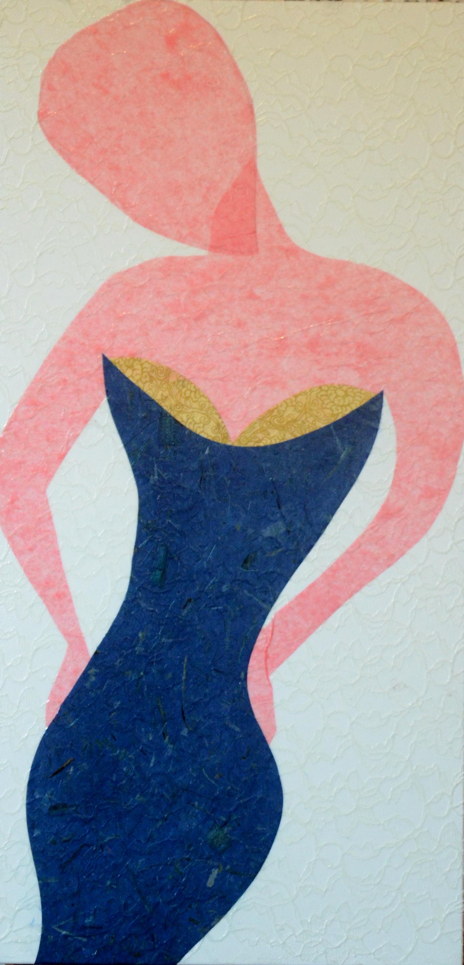 Woman in Blue (again)