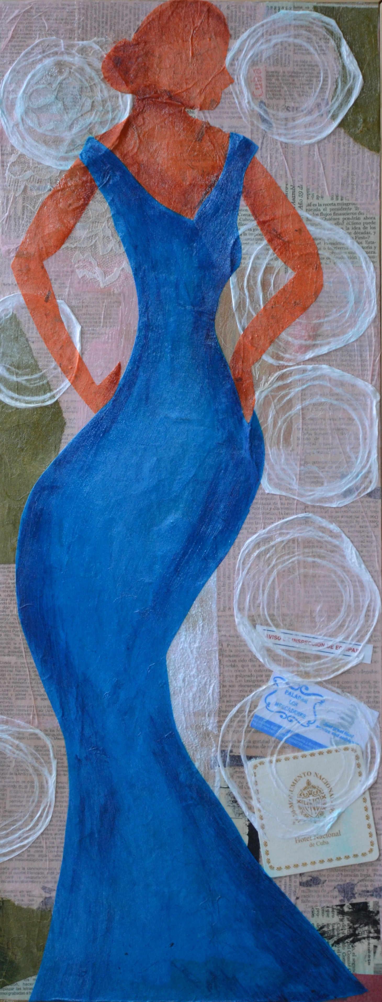 Havana, Blue Dress #17