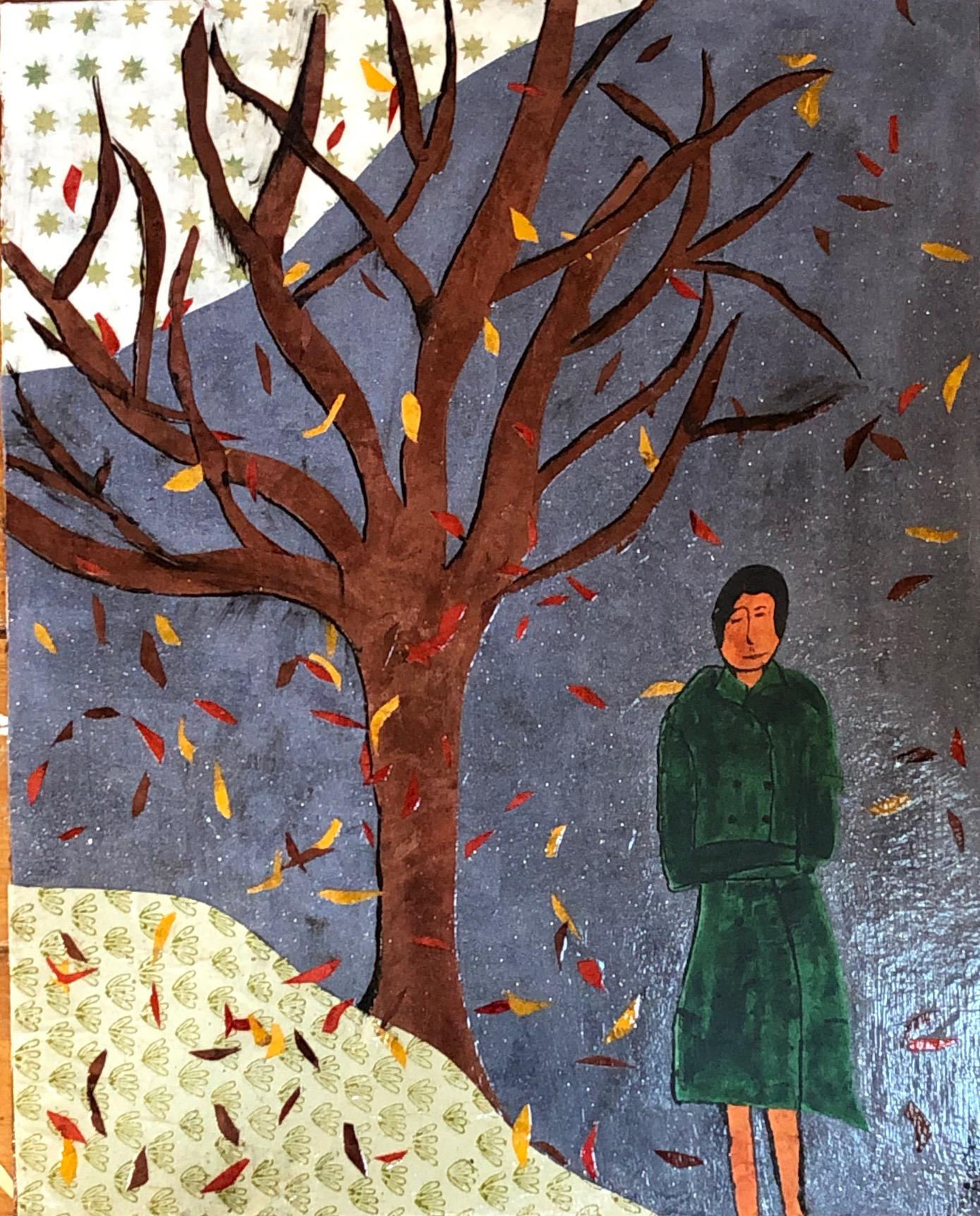 Tree (Green Coat)