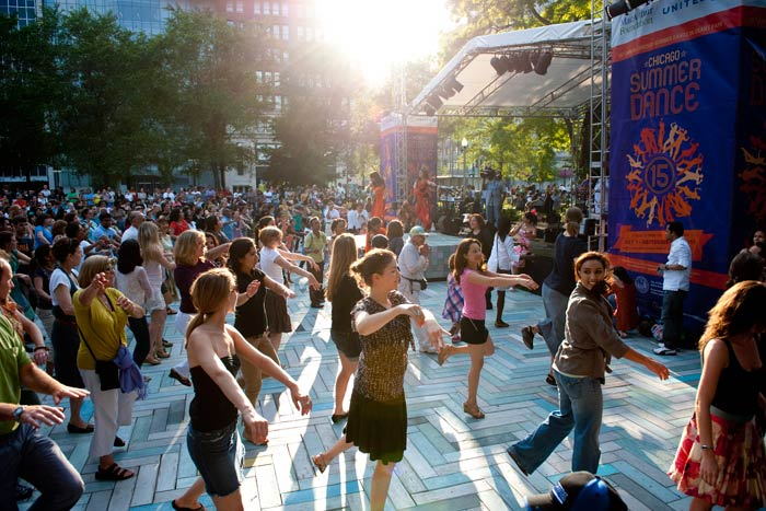 Summer in Chicago: the best time to dance!