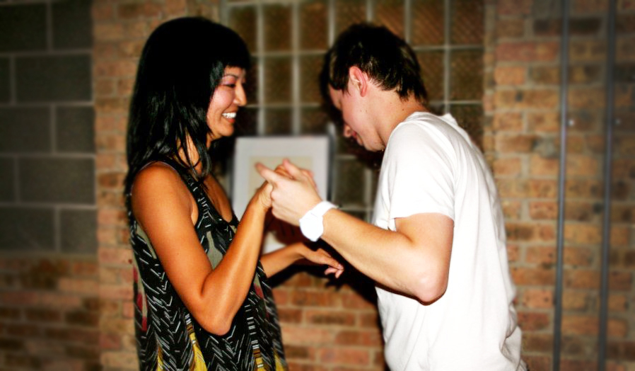 Dancing together with your loved one