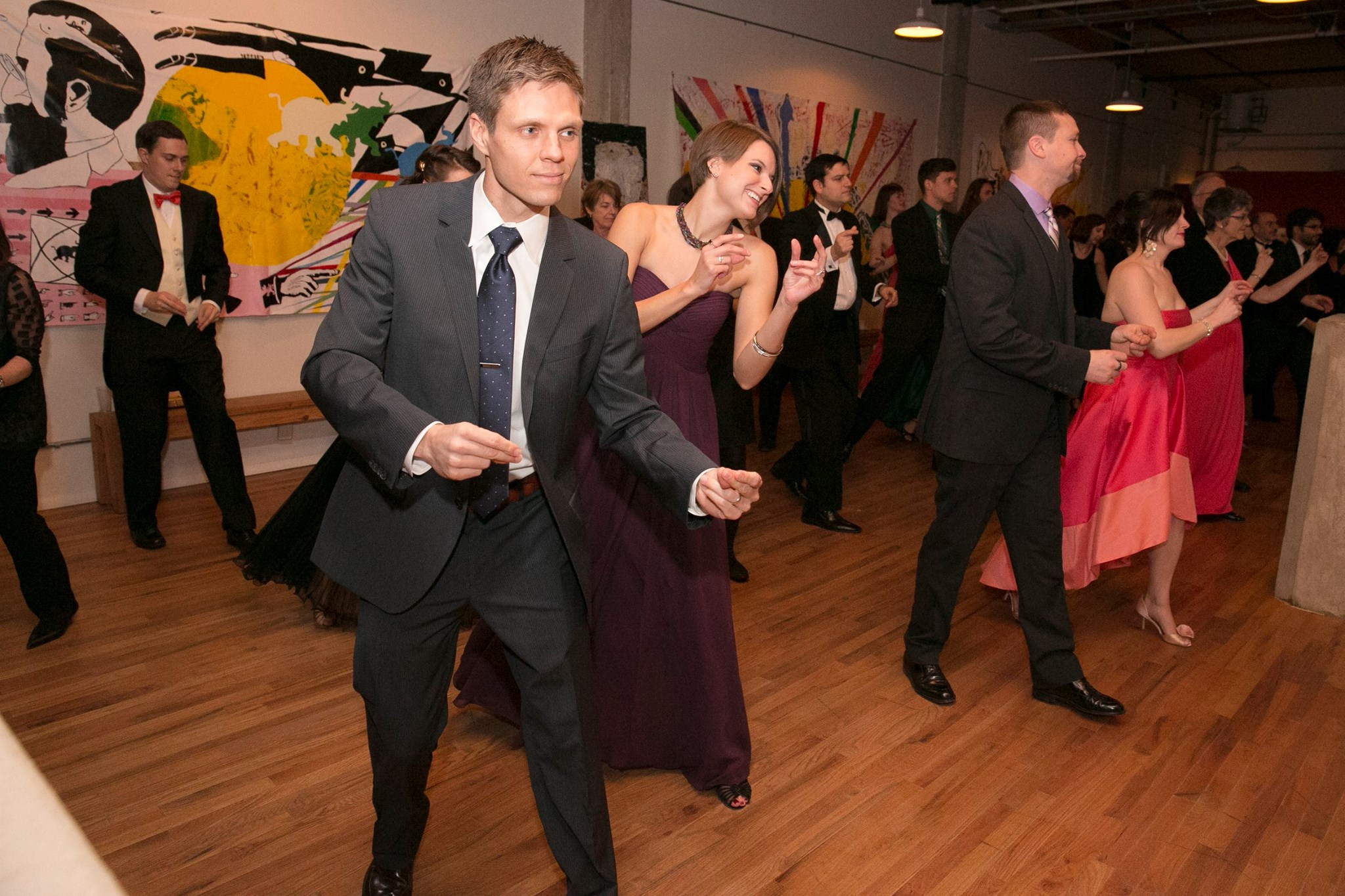 Get all of your wedding guests out on the dance floor.