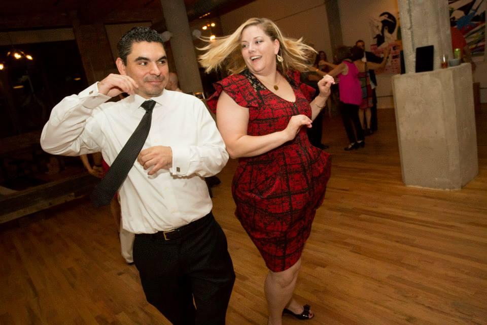 Couple Salsa Dancing Chicago