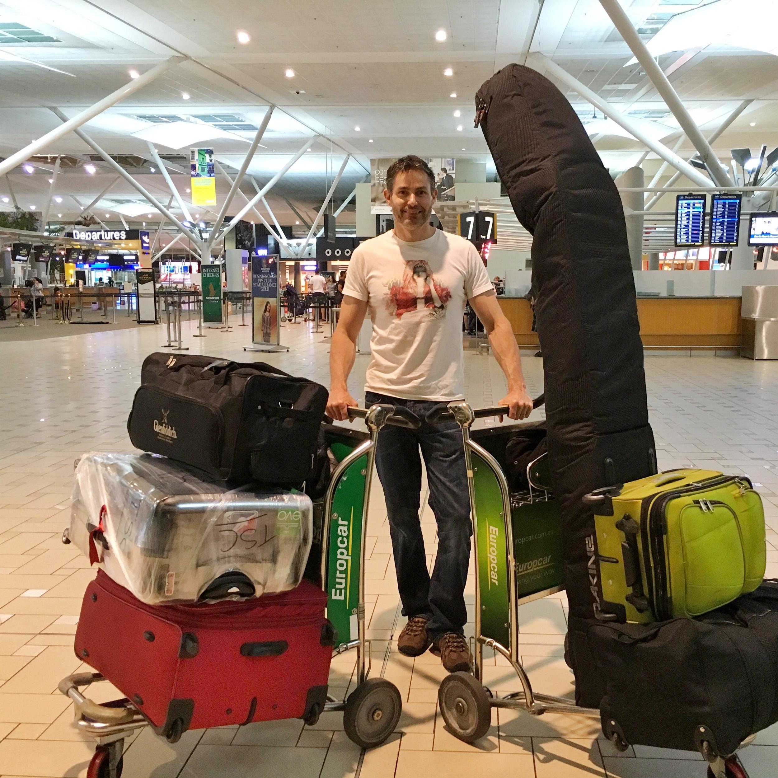Leaving Brisbane, Australia for the US
