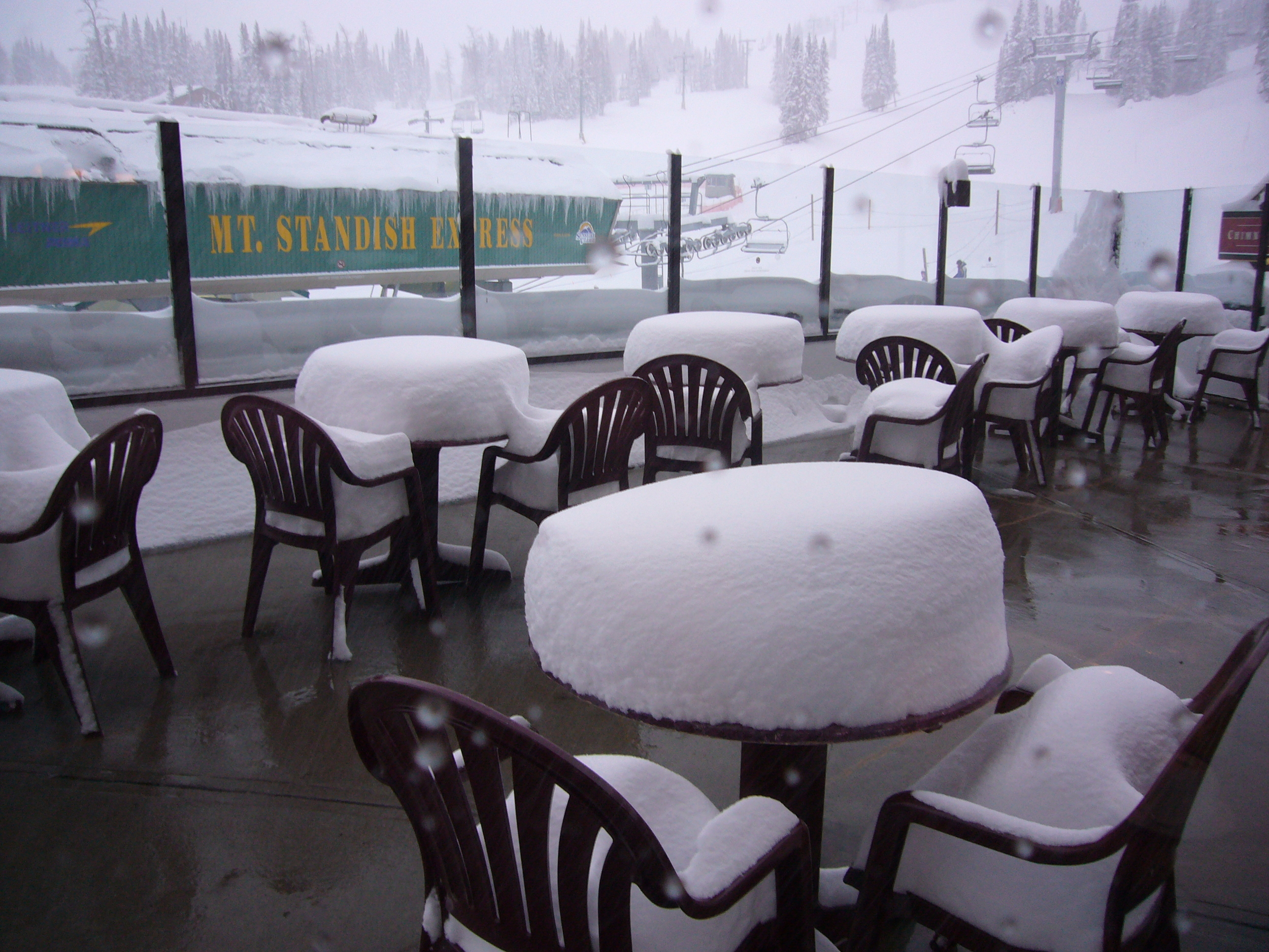This is what you can expect on a good day at Sunshine Village!