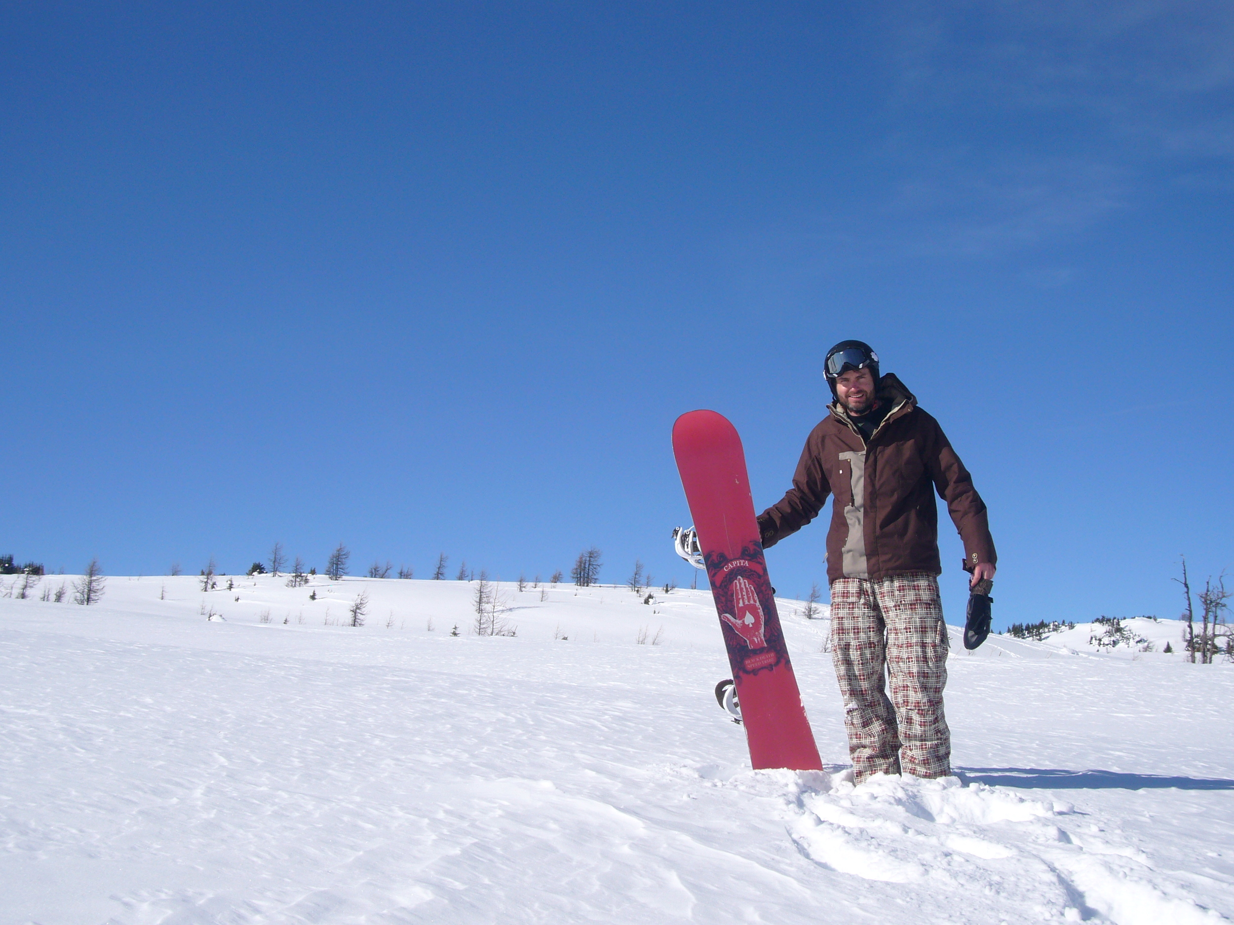 Beautiful days and great snow conditions await at Sunshine Village.