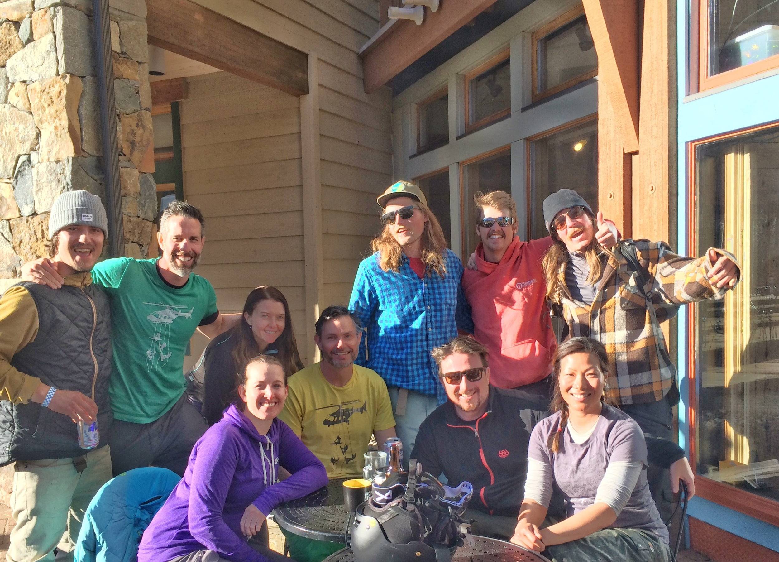 Meeting up with some of the local characters at Keystone.