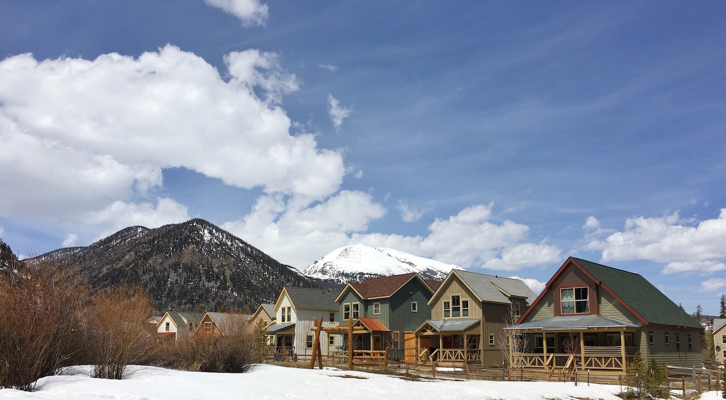 We stayed in Frisco, Colorado for 2 months.
