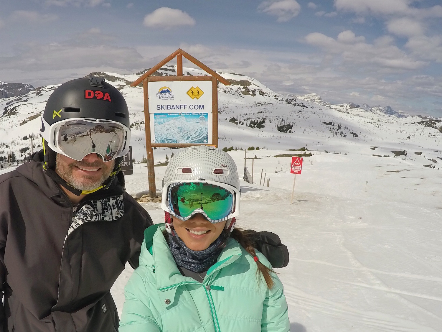 It was good to be back at Sunshine Village!