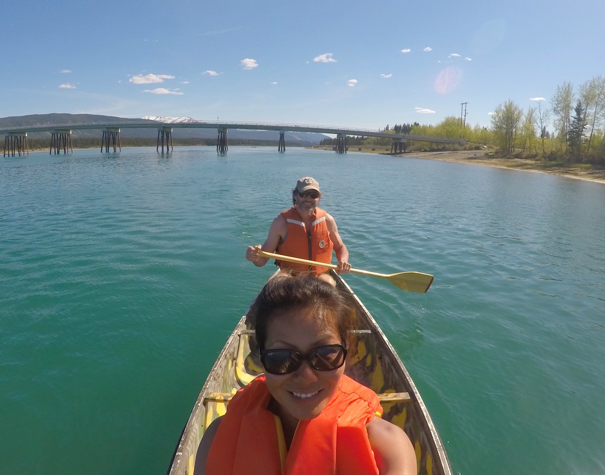 PADDLING IN THE YUKON
