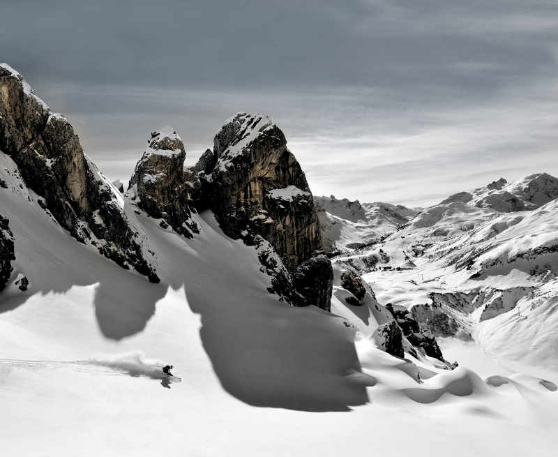 Austria is considered the birthplace of skiing. Provided by Lech Zurs Tourism. Photo by Sepp Mallaun.