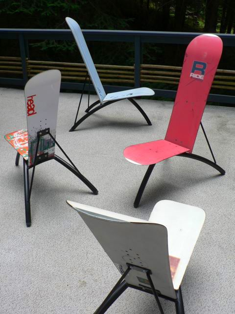Snowboard Chairs