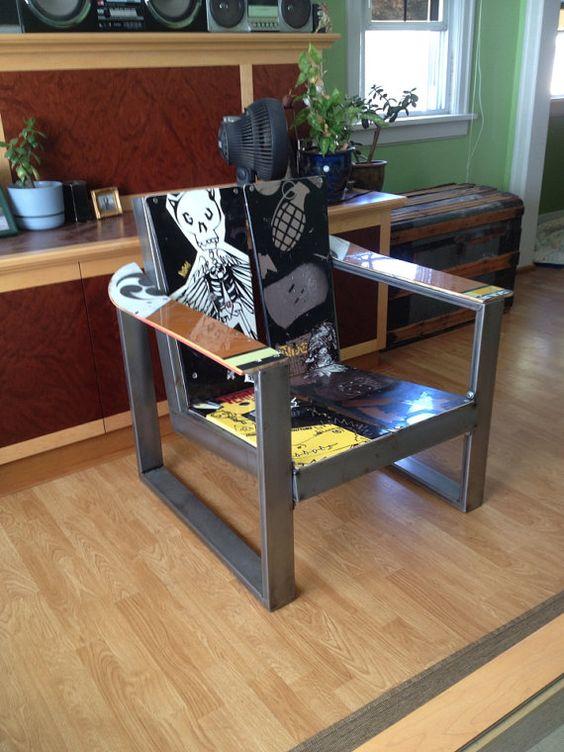 Snowboard Chair