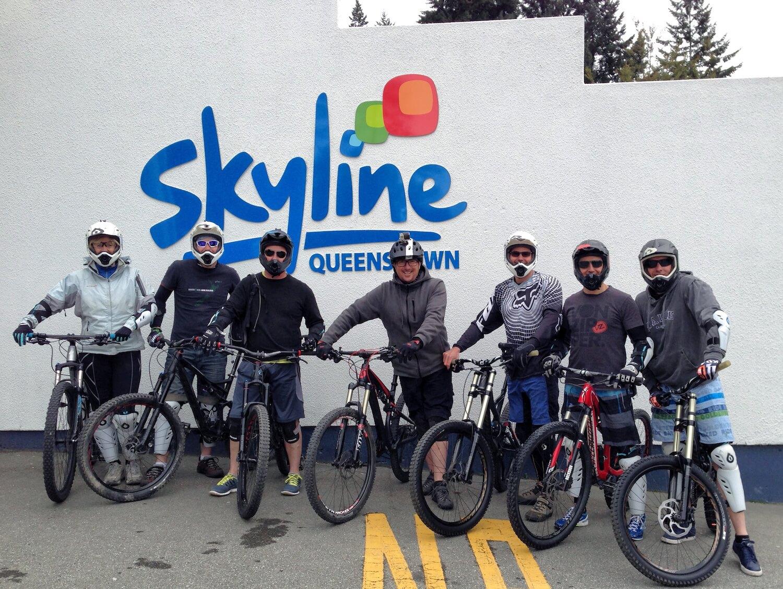 Mountainbiking Skyline Queenstown
