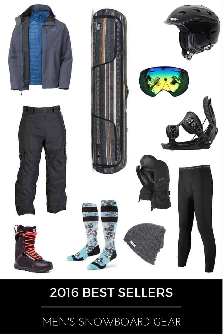 2016 Best Sellers - Men's Snowboard Gear